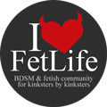 I (heart) FetLife: BDSM &amp; Fetish Community by Kinksters, for Kinksters