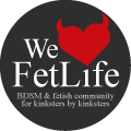 We (heart) FetLife: BDSM & Fetish Community for Kinksters, by kinksters - NSFW